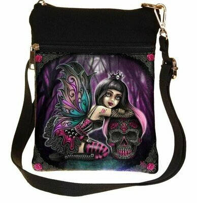 Bolso Hada Lolita con Calavera Mexicana