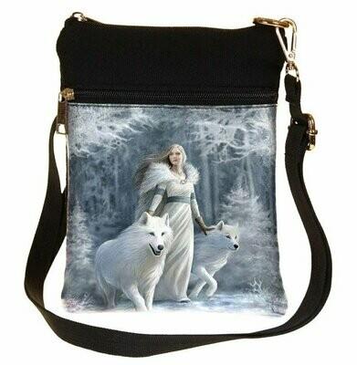 Bolso Lobos Guardianes del Invierno