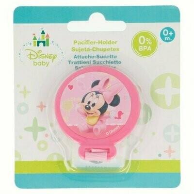 Sujeta Chupetes Minnie Mouse