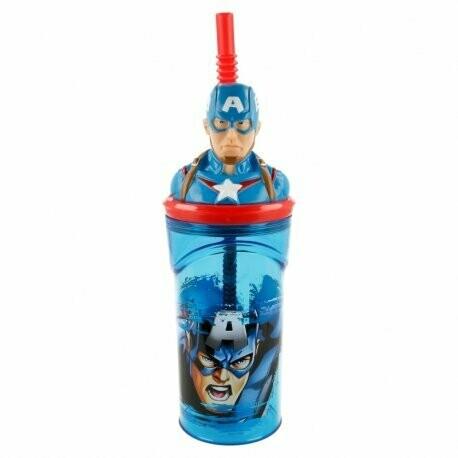 Vaso 3D Capitán América