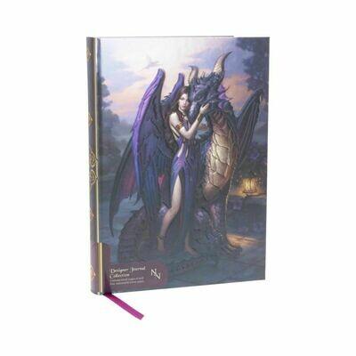 Cuaderno Relieve Hada y Dragón
