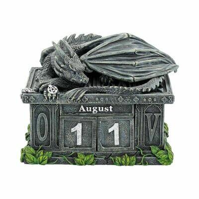 Calendario Dragón Guardián de la Fortuna