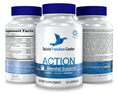 ACTION - Supports Focus, Clarity & Memory