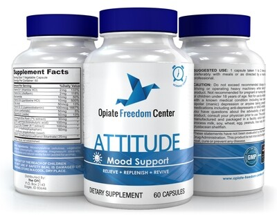 ATTITUDE - Promotes Positive Mood and Motivation