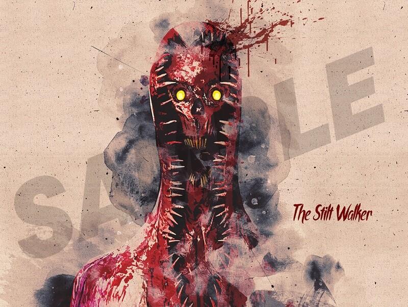 Stilt Walker A4 | A3 Digital Print from