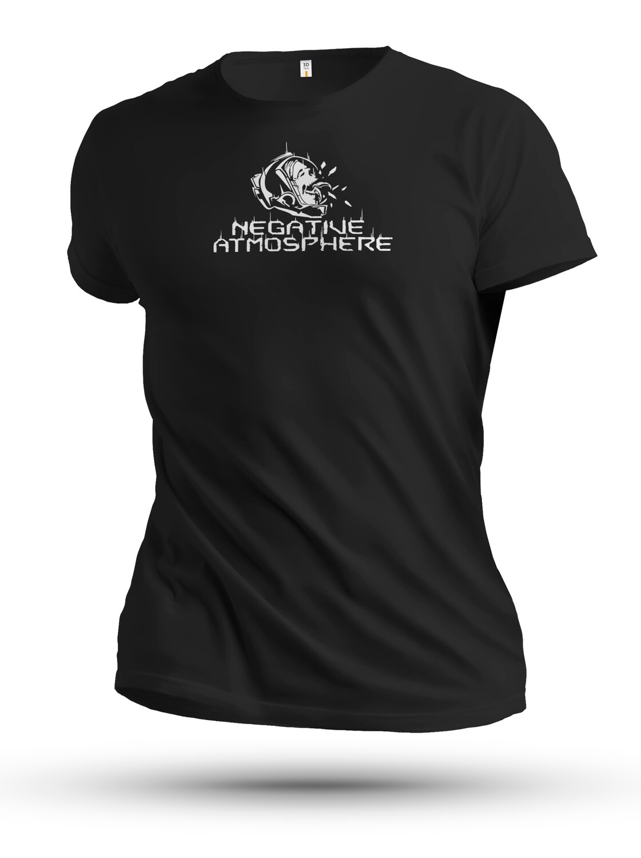 Unisex Black Negative Atmoshpere T-shirt from