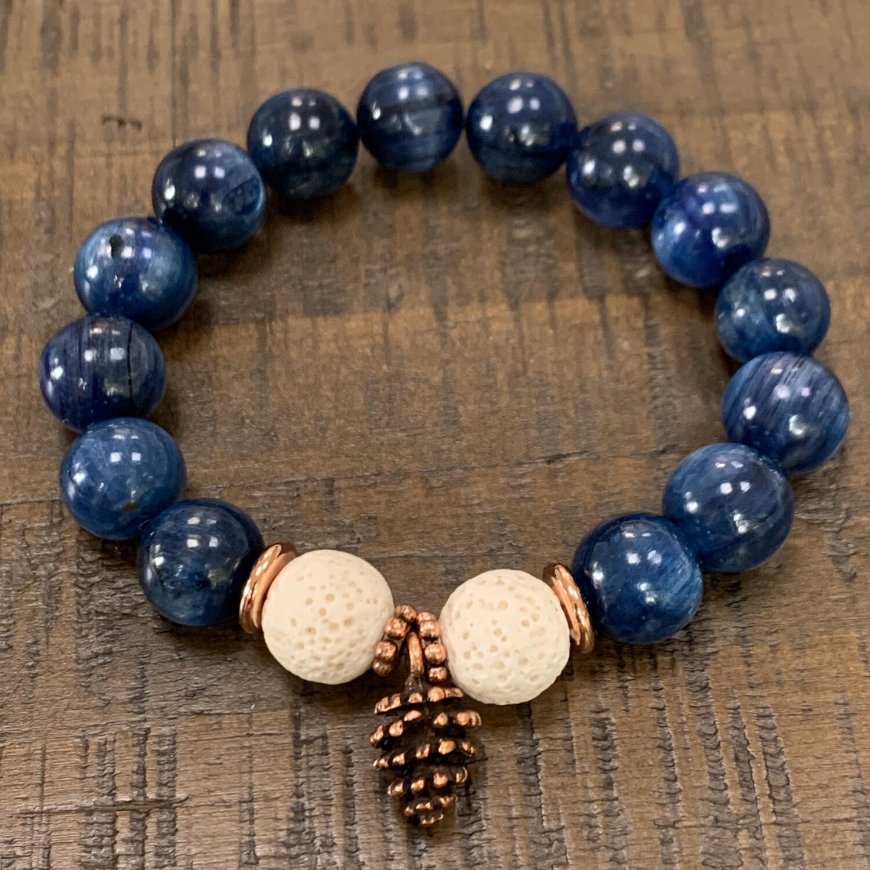 Kyanite Pineal Activator Bracelet