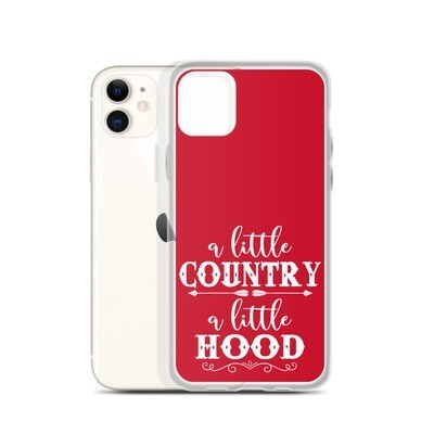 A Little Country A Little Hood iPhone Case