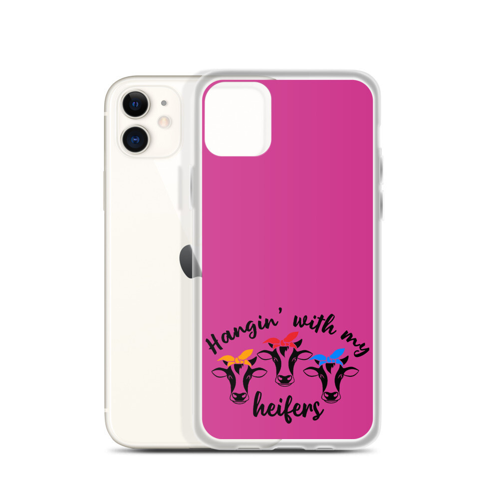 Hangin' With My Heifers iPhone Case