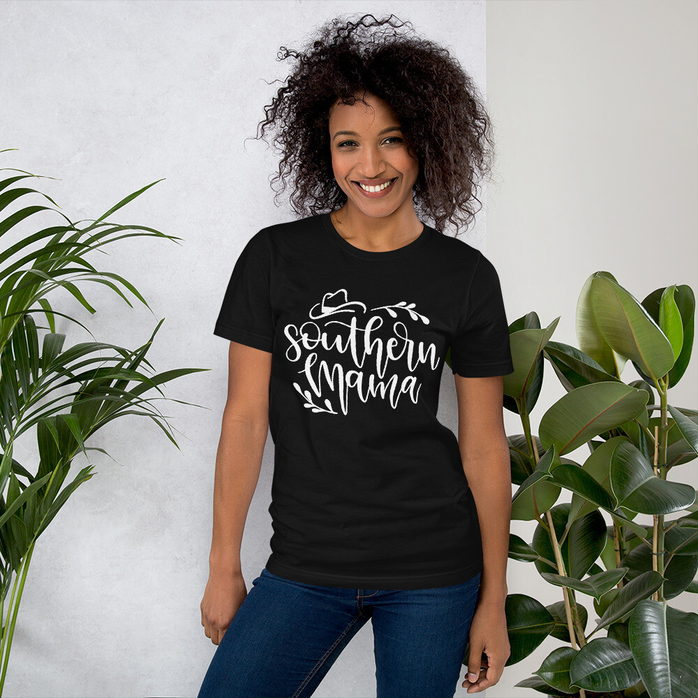 Southern Mama Short-Sleeve Unisex T-Shirt/ Bella + Canvas 3001