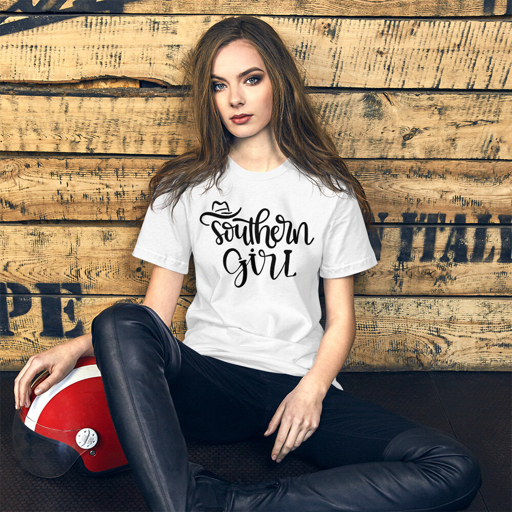 Southern Girl Short-Sleeve Unisex T-Shirt/ Bella + Canvas 3001