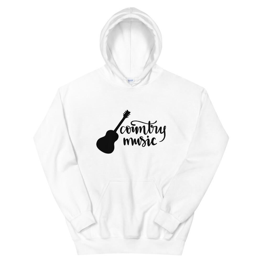 Country Music Unisex Hoodie/ Gildan 18500