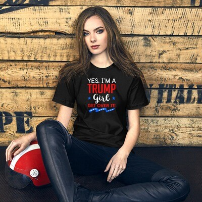 Yes, I'm A Trump Girl Short-Sleeve Unisex T-Shirt