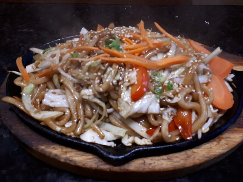 Vegetable Yaki Udon