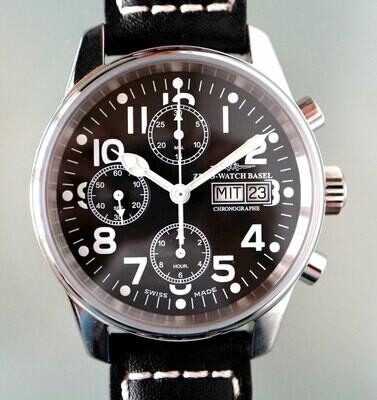 Zeno Watch Classic Automatik Chronograph - 2 Jahre Garantie, inkl. Uhrenbeweger!