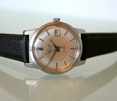 Musett Guy-Robert Herren-Armbanduhr, Automatik Chronometer, Swiss Made