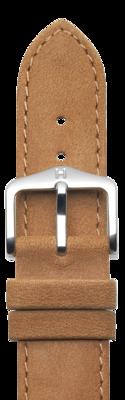 Hirsch Osiris Uhrenarmband / Strukturiertes Leder