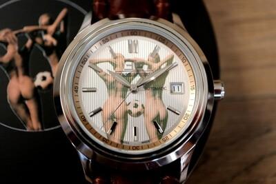 Erotik-Uhr Edouard Lauzières - Limitierte Edition 2020 - Automatik mit Datum