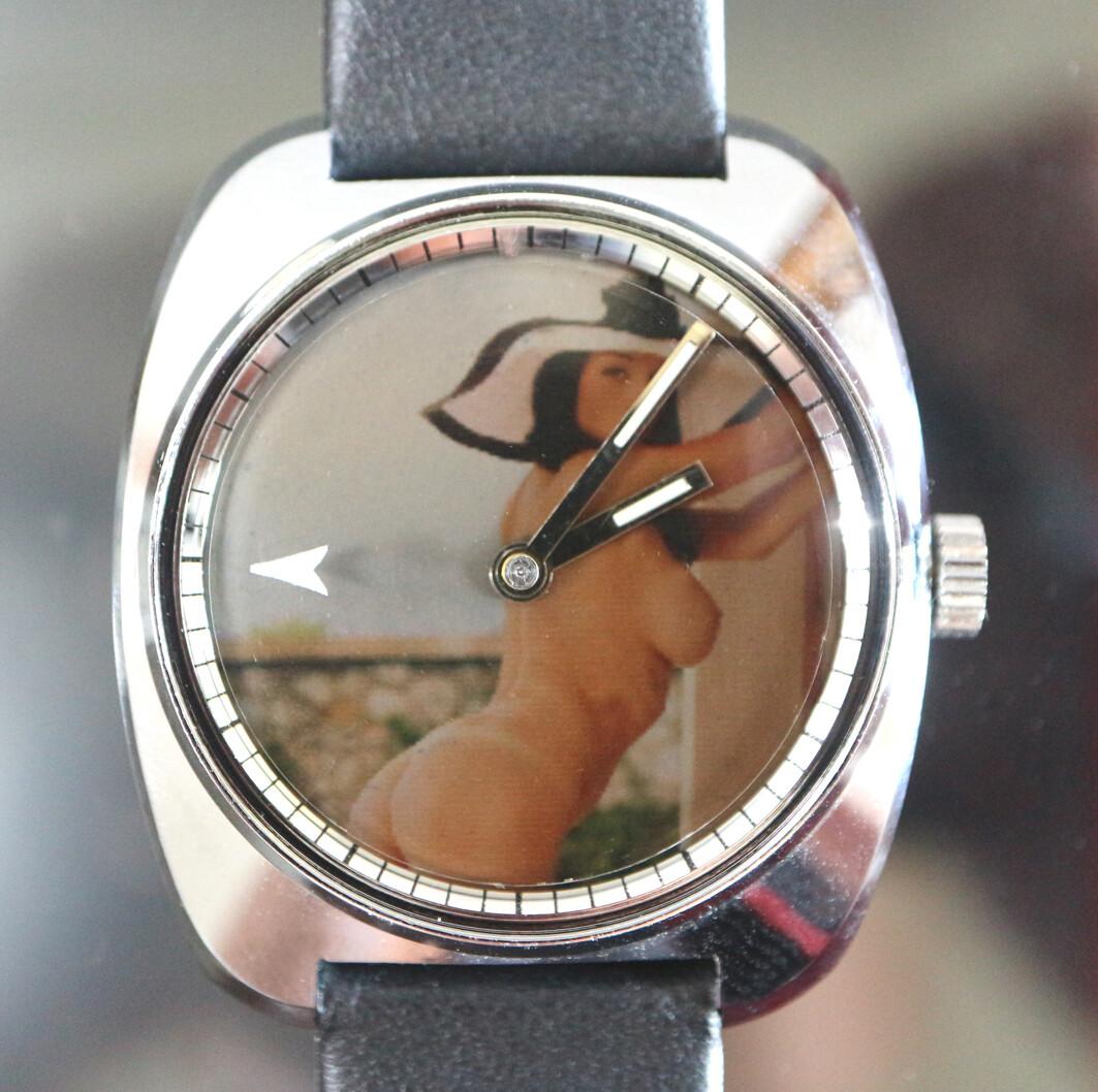 Erotik-Uhr Zurex Sujet 001