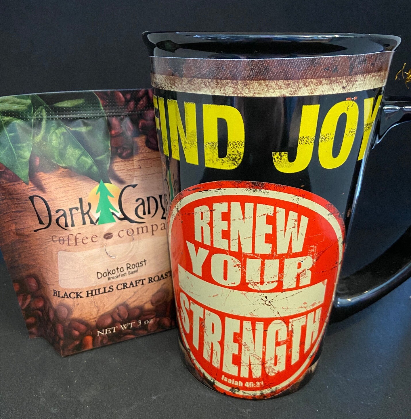 Vintage Inspired Mug + Coffee