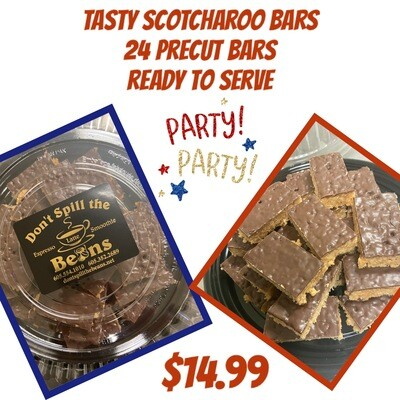 Scotcharoo Bars 24 Precut Bars Ready To Serve