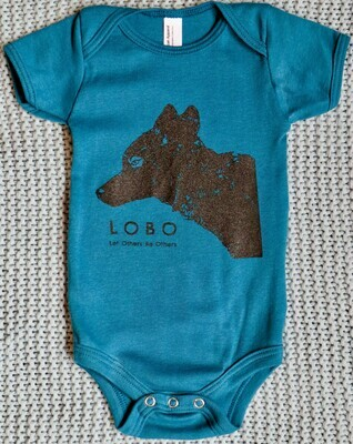 Onesies for Wolves (Ocean Blue)