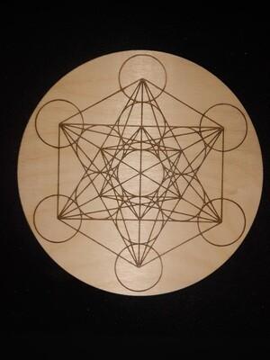 Metatron's Cube Crystal grid