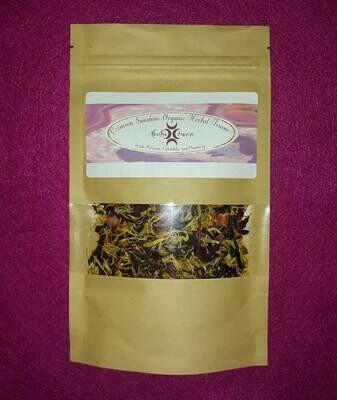 Crimson Sunshine Organic Herbal Tisane Tea