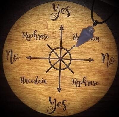 Akasha Zamora Pendulum Reading - 10 Yes or No Questions