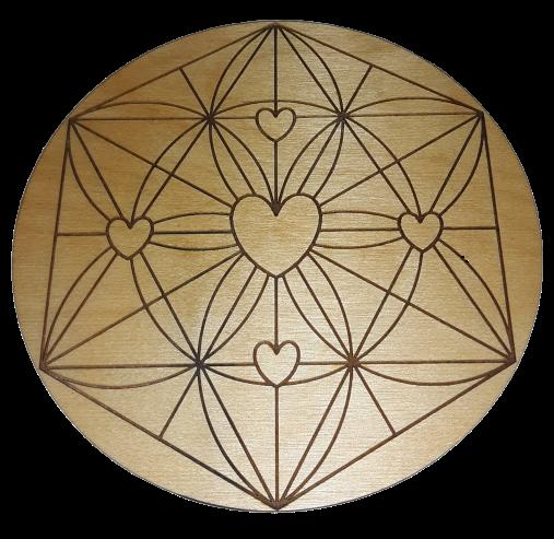 Heart Crystal Grid