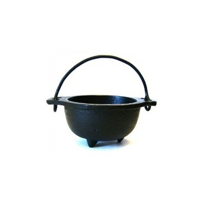 Cast Iron Cauldron w/ Handle 5