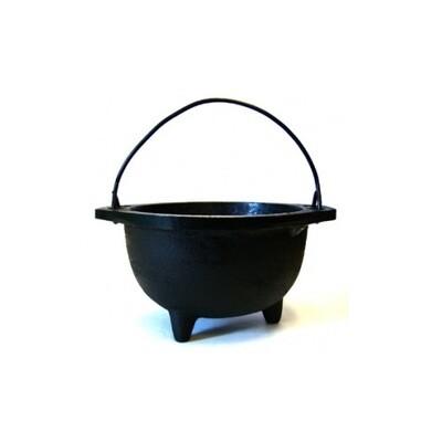 Cast Iron Cauldron w/ Handle 6