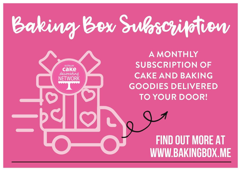 6 month subscription Baking Box