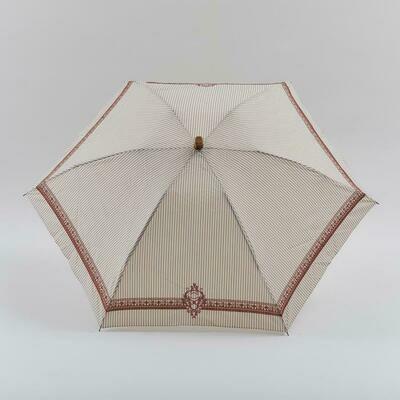 manipuri 晴雨兼用折り畳み傘 relief ベージュ