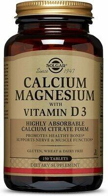 Calcium Magnesium with Vitamin D3 Tablets