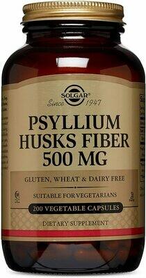 Psyllium Husks Fiber 500 mg