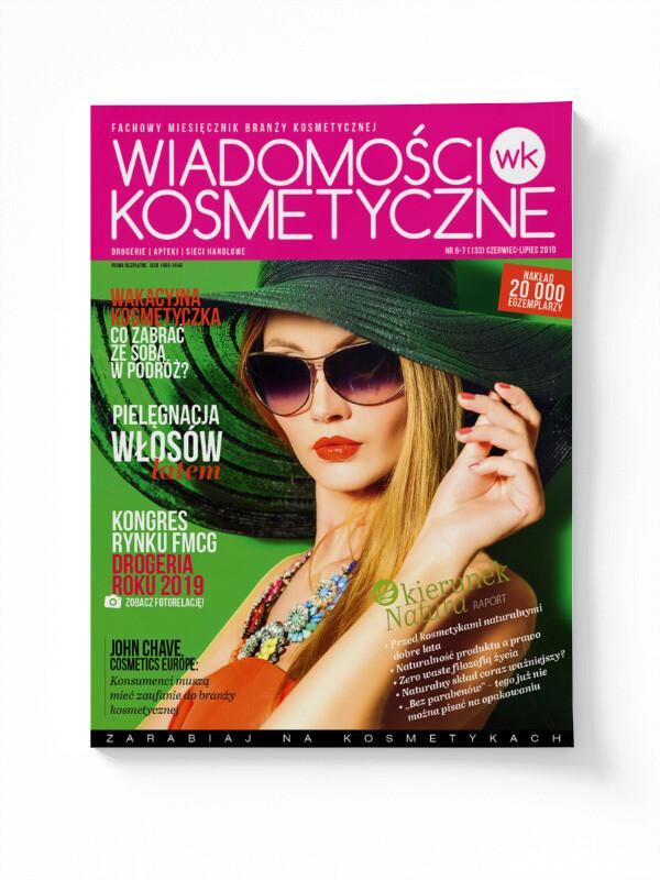 Wiadomości Kosmetyczne Czerwiec-Lipiec 2019