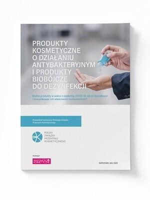 Produkty kosmetyczne o działaniu antybakteryjnym i produkty biobójcze do dezynfekcji (ebook)