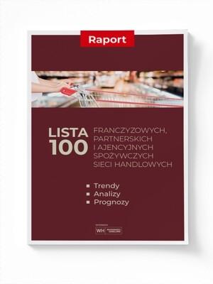 Lista 100 franczyzowych spożywczych sieci handlowych - trendy, analizy, prognozy