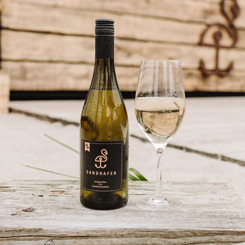 Virtuellen Sauvignon Blanc für eine*n Freund*in ausgeben (GIF)