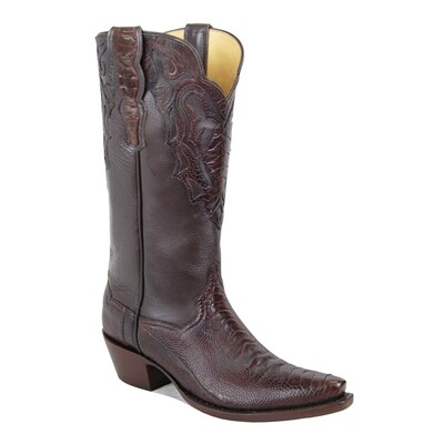 Monte Carlo Ostrich Leg Cowboy Boots