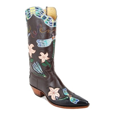 Dragonfly Cowboy Boots