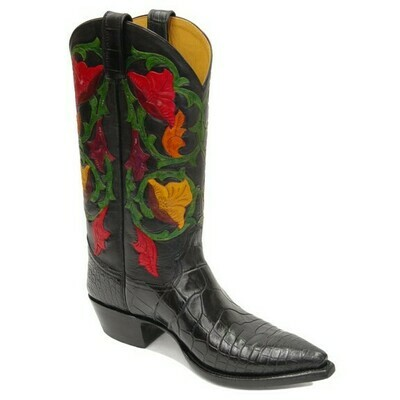Delilah Hand-Tooled (15 Colors) Cowboy Boots