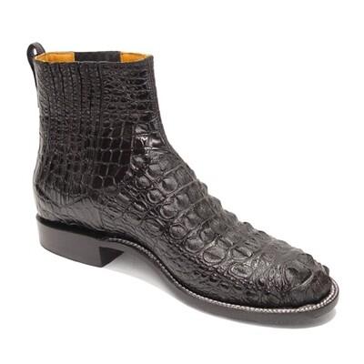 Nile Crocodile Hornback Ankle Boots (5 Colors)