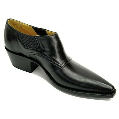 Smooth Cowhide Shoe Boots