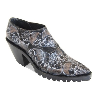 Skull Shoe Boots