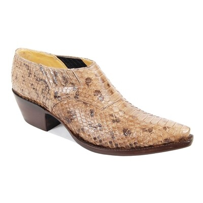 Python Belly Shoe Boots (10 colors)