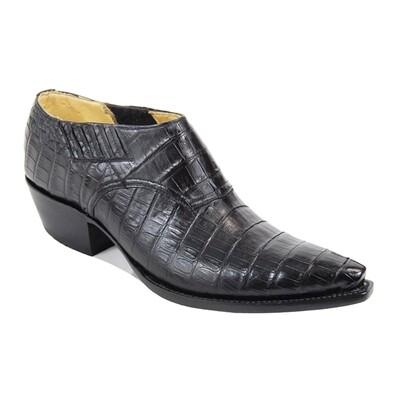 Smooth Caiman Crocodile (12 Colors) Shoe Boots