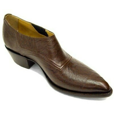 Smooth Ostrich Shoe Boots (18 COLORS)