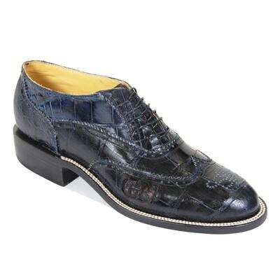 Nelson Smooth Nile Crocodile Shoe Boots